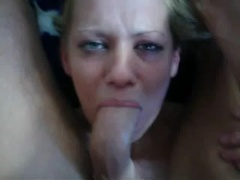 Submissive face fuck