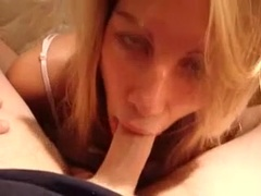 Deep throat until i cum in her mouth