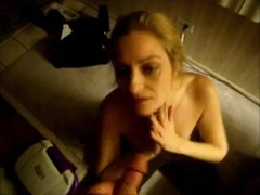 horny wife getting crazy with my dagger