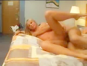 Blondie doing it in multiple positions
