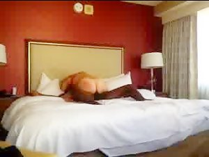 Hot blonde wife cheating with black dude