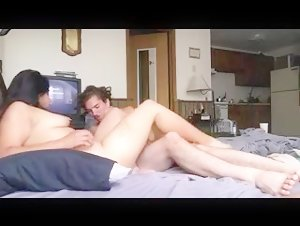 chubby indian gets her hairy snatch pounded