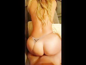 Big round booty drilled from behind in pov